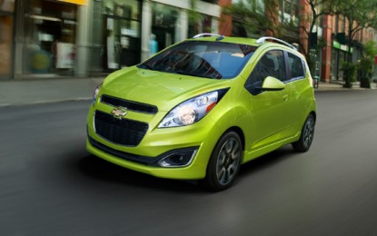 2013 Chevrolet Spark Manual Hatchback