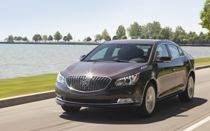 2014 Buick LaCrosse: Superior and Luxurious Midsize Sedan