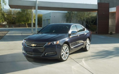 2014 Chevrolet Impala Gets Title of The Safest Car on the Road