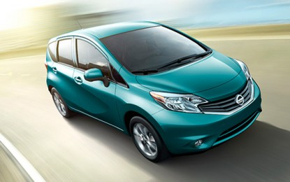Nissan Reveals 2014 Nissan Versa Note Prices and Specifications