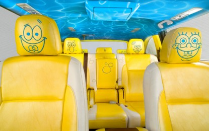Nickelodeon and Toyota Unveil 2014 SpongeBob Toyota Highlander