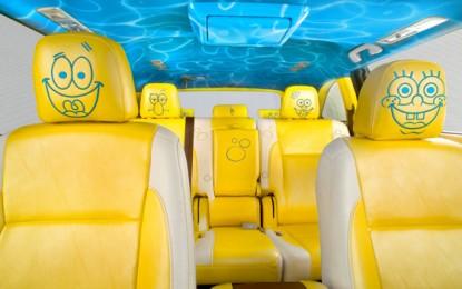 Nickelodeon and Toyota Unveil 2014 SpongeBob Toyota Highlander