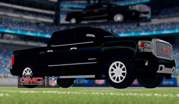 GMC Vehicles Take the Field in Madden NFL 25