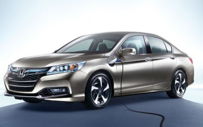 Honda Brings Accord Plug-In To City Of Torrance