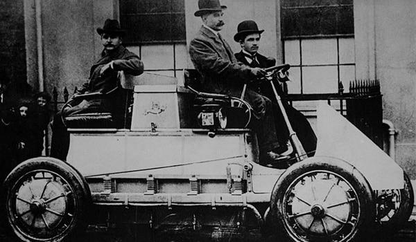First Hybrid Car