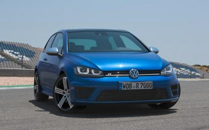 New Volkswagen Golf R Uses Less Fuel on More Horsepower