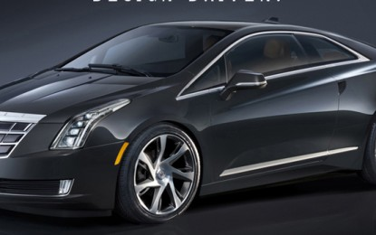 Cadillac's New ELR Electric Vehicle