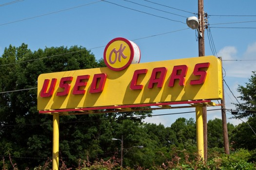 'OK Used Cars' - U.S. Route 76, Anderson, South Carolina, USA