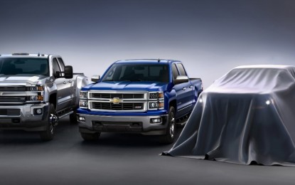 Chevrolet to Unveil 2015 Colorado at LA Auto Show