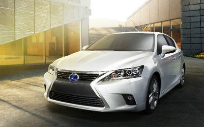 Lexus Ready to Unveil CT 200h in China