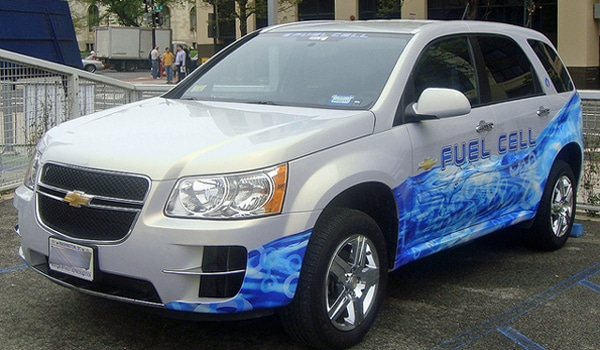 Chevrolet Equinox Fuel Cell, Washington DC