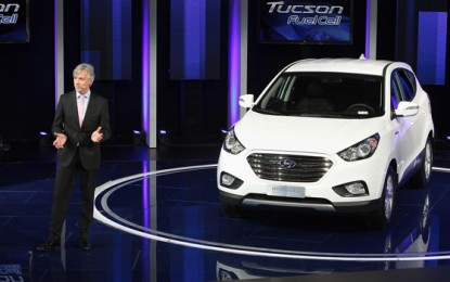 The 2015 Hyundai Tucson FCEV to be Launched Next Year