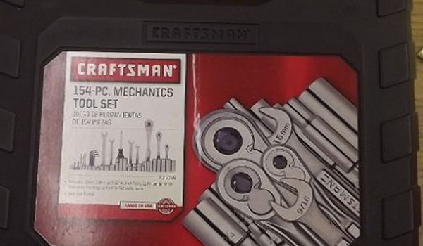 Craftsman 154 Piece Mechanic Tool Set