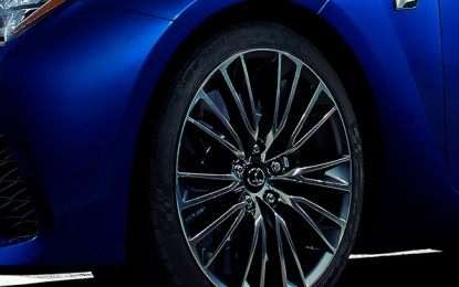 The Second Teaser of Lexus's F Model Makes its Debut at the 2014 Detroit Auto Show