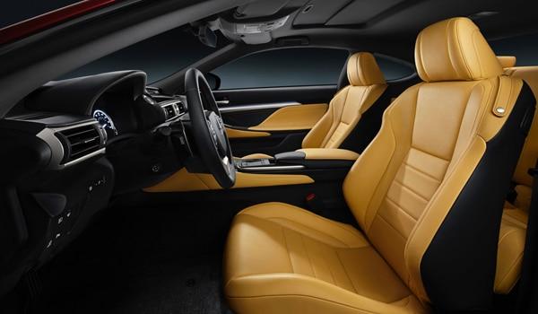 2015 Lexus RC 350 - Interior