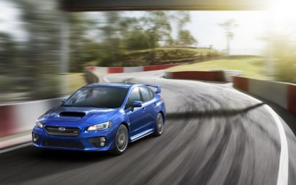 Subaru Introduces 2015 WRX STI at 2014 NAIAS