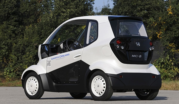Honda New Micro-sized EV Back