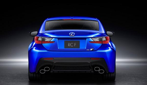 Lexus RC F - Back