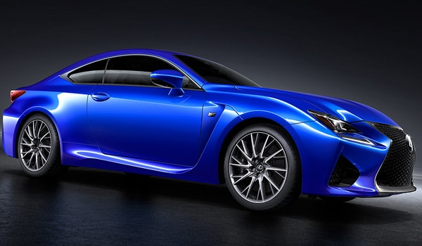 Lexus RC F - Side