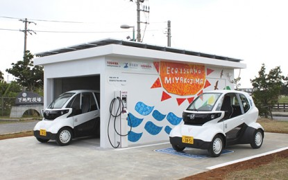 Honda Teams with Toshiba for MC-Beta Micro Sized EV