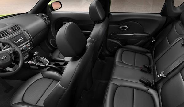2015 Kia Soul EV - Interior
