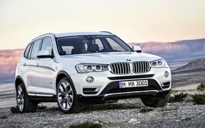The New BMW X3 – Specifications
