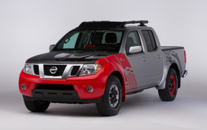 Nissan Unveils 2015 Versa Note SR and Frontier Diesel Runner at the 2014 Chicago Auto Show