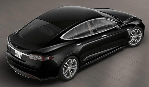 Tesla Model S - Back