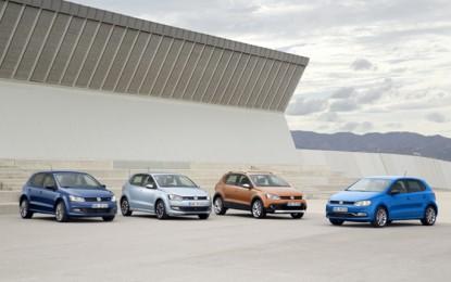 Volkswagen Polo Parade at Geneva Motor Show 2014