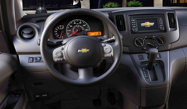2015 Chevrolet City Express Minivan - Interior