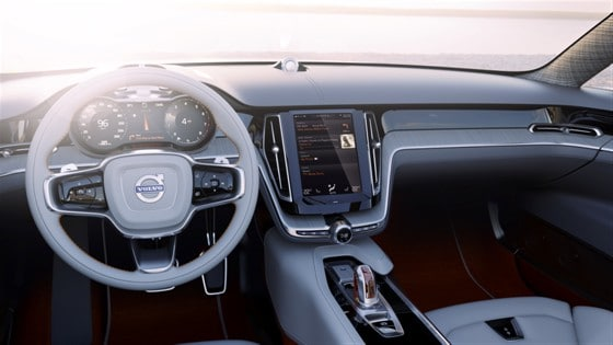 Volvo Concept Estate - Interior