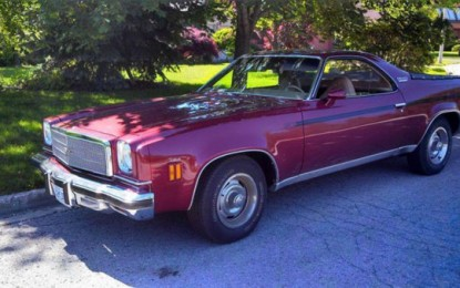 Rare 1974 El Camino Asking for $120,000 on Kijiji