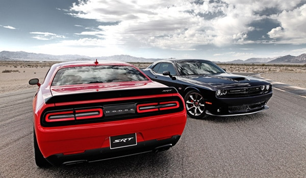 2015 Dodge Challenger SRT Hellcat - Back
