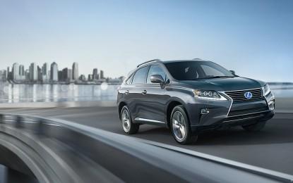 2015 Lexus RX 450h: The New RX Hybrid SUV