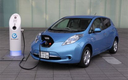 Nissan's Leaf Electric Car Might Be Falling Apart