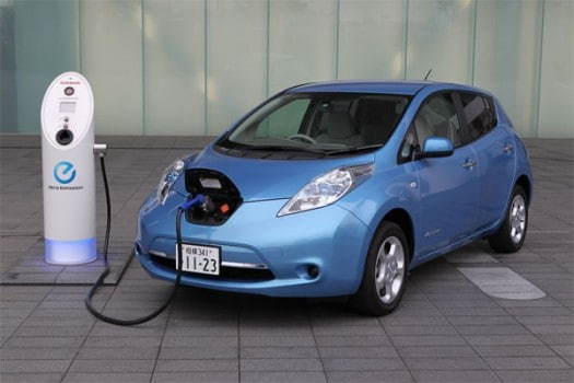 Nissan's Leaf Electric Car