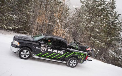 Ram Truck Returns as the Official Truck of Tucker Hibbert's Team