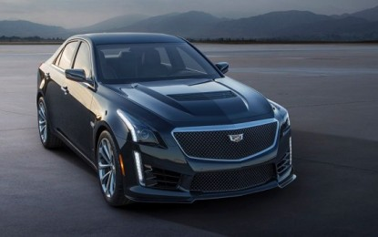 2016 Cadillac CTS-V to Debut at NAIAS Detroit