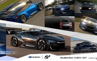 Subaru Reveals VIZIV GT Vision for Gran Turismo 6