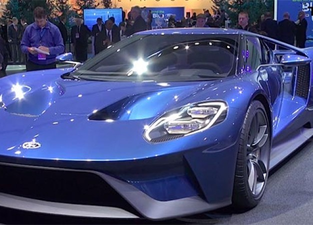High Price, Low Production and Futuristic Concept: The New Ford GT