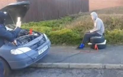 Man Breaks Spine after Dangerous Airbag Stunt (Video)