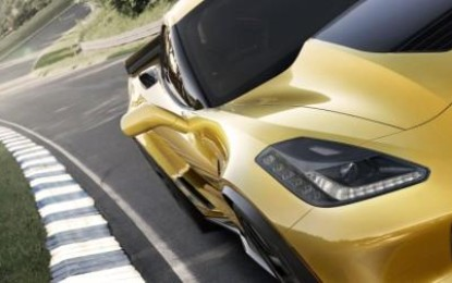 The 2015 Corvette Z06 is the Fastest Front-Engine Road Runner
