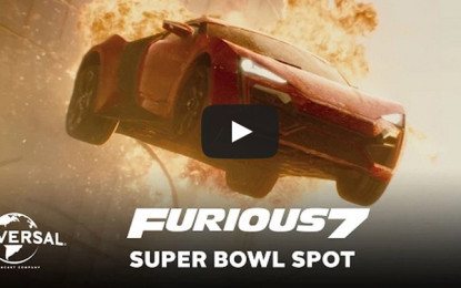 Fast and Furious 7 AD Shown during Super Bowl