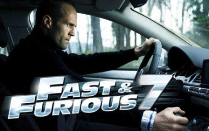 Furious 7 – The 14 Year old Movie Franchise Makes $384 Million at the Global Box Office