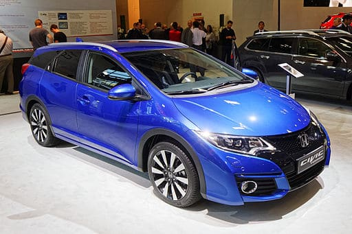 Honda Civic Tourer Side