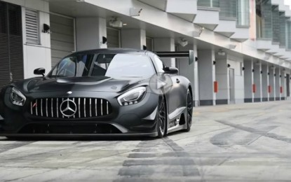 Watch Mercedes-AMG GT RR Tearing the Track