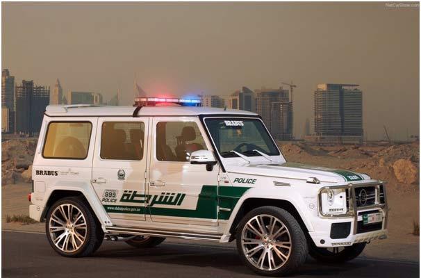 Dubai Police G 700 Car