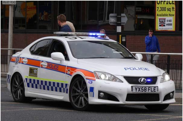 Humberside Police Car