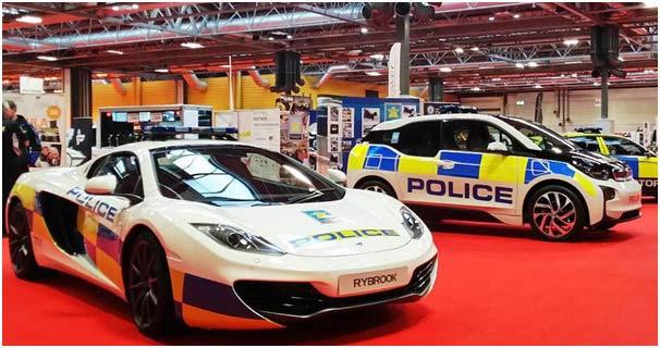 McLaren 12C Police Car