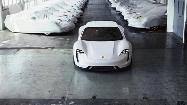 Porsche mission e cars